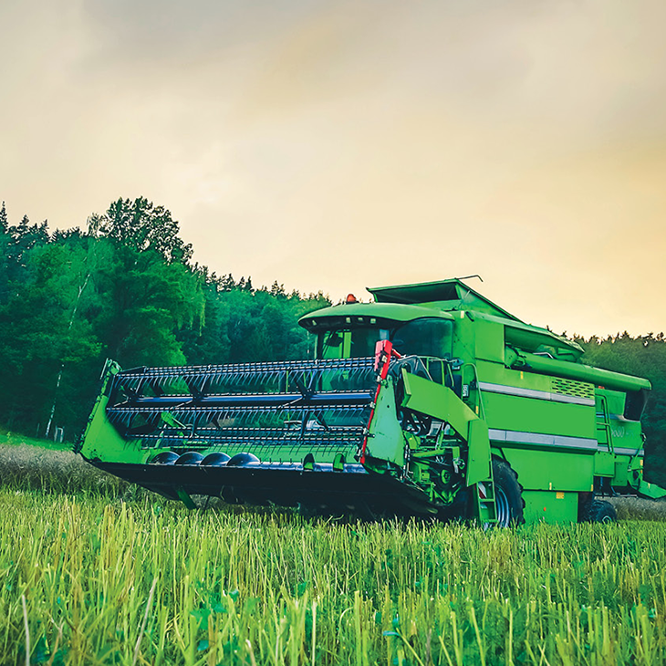 agricultural equipment purchase